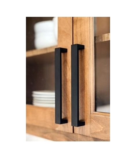Joinery Handles Powder Coated BLACK to order
